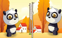 Play Panda and eggs on Perro-Electric.Com