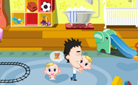 Play Happy Babies game on Perro-Electric.Com