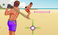 Play Beach Baseball on Perro-Electric.Com