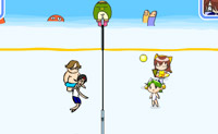 Play Beach Volley Ball on Perro-Electric.Com