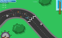 Play Bike Racer game on Perro-Electric.Com