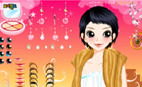 Play Dress up Bling game on Perro-Electric.Com