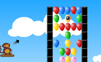 Play Monkey and the Balloon 4 game on Perro-Electric.Com