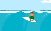 Play Surfing game on Perro-Electric.Com
