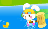Play Brave Rabbit Beat Monsters on Perro-Electric.Com