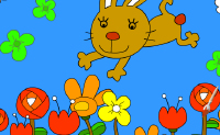 Play Bunny Painting game on Perro-Electric.Com