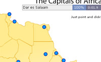 Play Capital Cities Africa game on Perro-Electric.Com