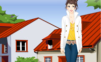 Play Casual Dress Up game on Perro-Electric.Com