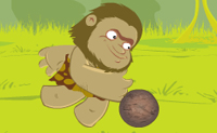 Play Caveman Football on Perro-Electric.Com