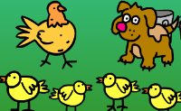 Play Chicken Choir game on Perro-Electric.Com