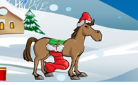 Play Christmas Horse game on Perro-Electric.Com