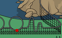 Play Build a Rollercoaster online on Perro-Electric.Com