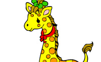 Play Coloring Picture Giraffe on Perro-Electric.Com