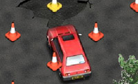 Play Running over Cones 2 on Perro-Electric.Com