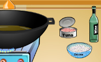 Play Tuna and Spaghetti Cooking game on Perro-Electric.Com