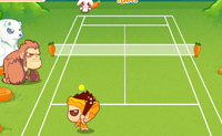 Play Animal Tennis on Perro-Electric.Com