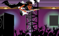 Play Crowd Surfing game on Perro-Electric.Com