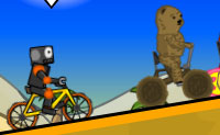 Play Cyclo maniacs on Perro-Electric.Com