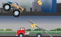 Play Destructive Monster Truck on Perro-Electric.Com