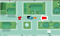 Play Dinner Danger game on Perro-Electric.Com
