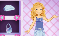 Play Holly Hobbie Dress Up game on Perro-Electric.Com