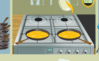 Play Baking an Omelette on Perro-Electric.Com