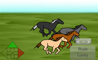 Play Horse Race Match game on Perro-Electric.Com