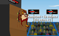 Play Taz Halfpipe on Perro-Electric.Com