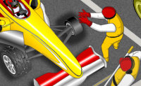 Play F1 Pitstop Challenge game on Perro-Electric.Com