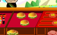 Play Hamburger Service 2 game on Perro-Electric.Com