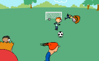 Play Footie Kick game on Perro-Electric.Com