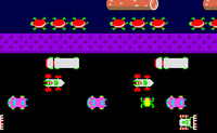 Play Frogger game on Perro-Electric.Com