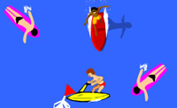 Play Fun Surfing game on Perro-Electric.Com