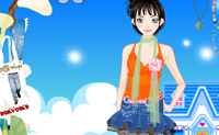 Play Dress Up Garden Girl game on Perro-Electric.Com