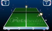 Play Garfield Ping-Pong game on Perro-Electric.Com