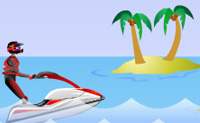 Play Jetski Rush on Perro-Electric.Com