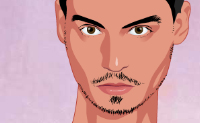 Play Make-up Johnny Depp game on Perro-Electric.Com