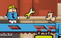 Play Jump Jim Jump game on Perro-Electric.Com