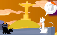 Play Jumping Cat on Perro-Electric.Com