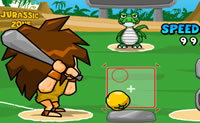 Play Jurassic Homerun King game on Perro-Electric.Com