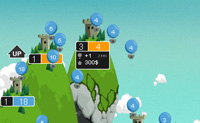 Play King of the Rocks game on Perro-Electric.Com