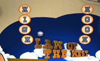 Play Law of the West Pinball on Perro-Electric.Com