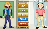 Play Teacher makeover game on Perro-Electric.Com