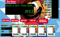 Play Mario Video Poker game on Perro-Electric.Com
