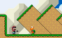 Play free game Super Mario Rampage 2 on Perro-Electric.Com