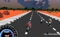 Play Motorcycle Racer game on Perro-Electric.Com