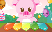 Play Musical Piggy game on Perro-Electric.Com