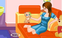 Play My Sweet Cat game on Perro-Electric.Com