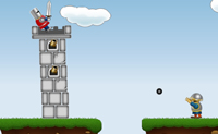 Play Cannonball Catch game on Perro-Electric.Com