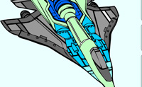 Play Fighter Jet coloring game on Perro-Electric.Com